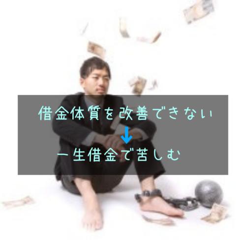 借金返済に苦しむ