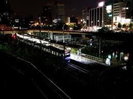 終電で帰宅