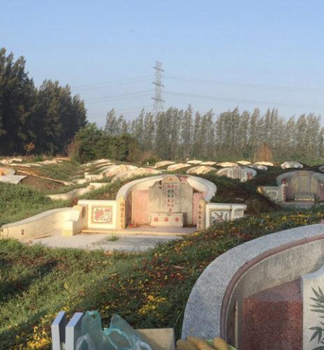 タイの墓地