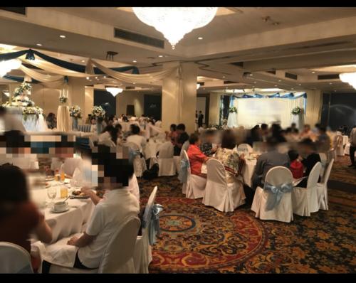 タイ披露宴会場