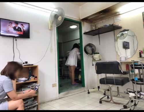 バンコクの場末美容室