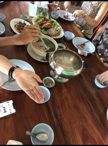 バンコク郊外レストラン