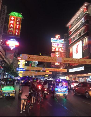 バンコク中華街ヤワラート、菜食週間