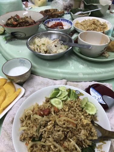 タイ人嫁ちゃん家の食事